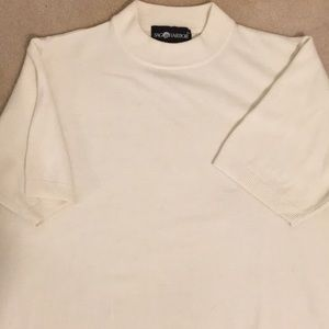 Women's short sleeve sweater